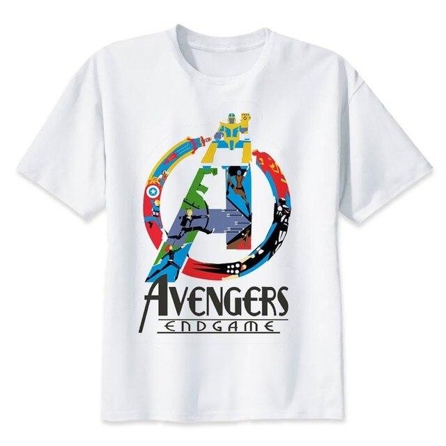 4d984cf32 2019 Neweset Avengers Endgame T Shirt Men/women Ironman Captain America End  Game Marvel T-shirt Superhero Custom TShirt Male