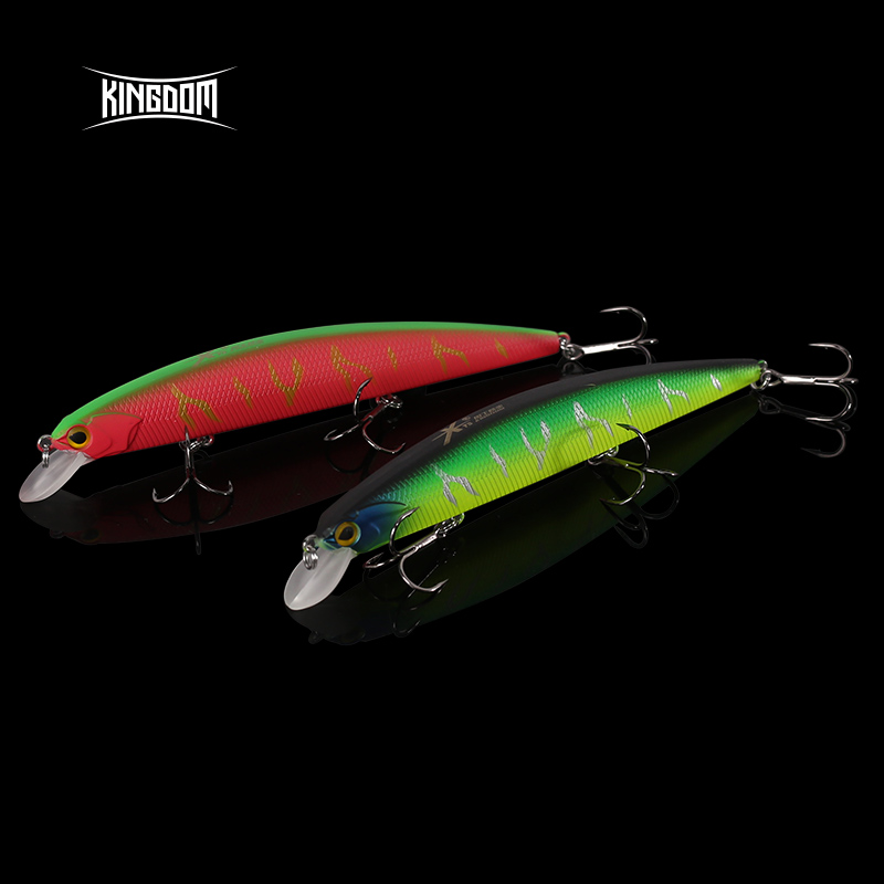 Kingdom 2018 New Hot Fishing Lures High Quality Hard Bait 130mm 20g Depth 0.8-1.5m minnow perfect action Wobblers Fishing lure