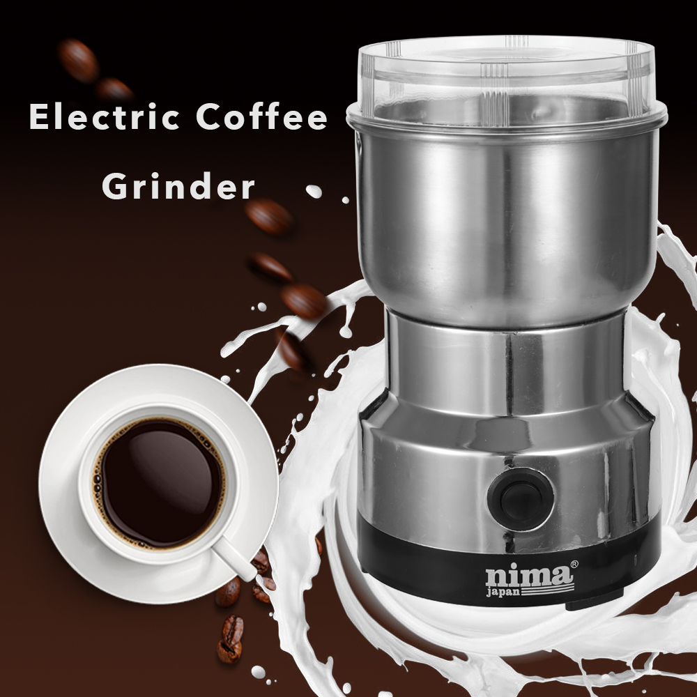 Electric Stainless Steel Coffee Spice Grinding Multifunctional Electric Grinder