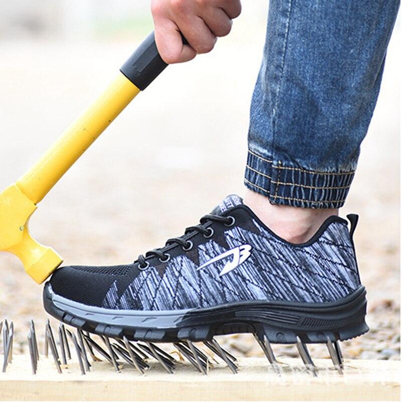 Safety Shoes Security Work Shoe Waterproof Botas De Seguridad Para Hombres Puntera Acero Trabajo Agua Hombre Bambas Seguridad