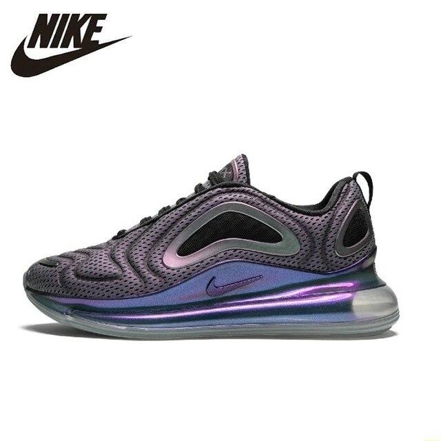 Nike Air Max 720 zapatos originales para correr para hombre nuevo patrón cómodo cojín de aire para deportes al aire libre zapatillas # AO2924-001