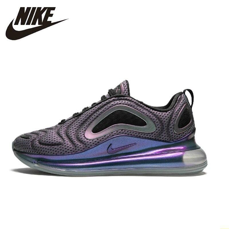 Nike Air Max 720 Homens Originais Running Shoes New Padrão Confortável Almofada de Ar Tênis Esportes Ao Ar Livre # AO2924-001