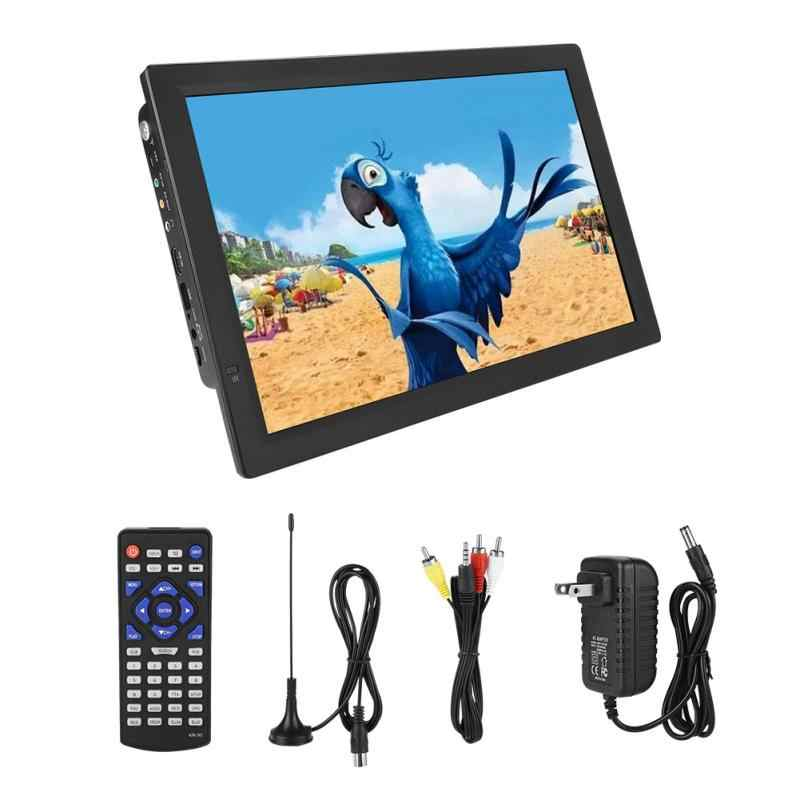 14 Inch DVB-T/T2 HD Digital TV ATV 1080P Portable Car Television 1280*800 TFT-LED Smart TV Support HDMI USB SD-Card US Plug Hot