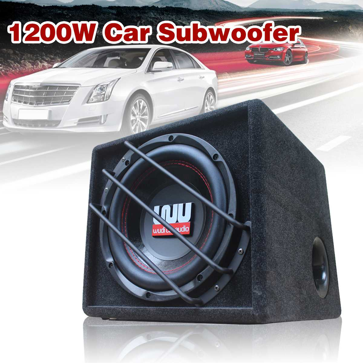 10 inch 1200w <font><b>car</b></font> subwoofer Strong Subwoofer <font><b>Car</b></font> <font><b>Speaker</b></font> Auto Super Bass <font><b>Car</b></font> <font><b>Audio</b></font> <font><b>Speaker</b></font> active Woofer Built-in Amplifer image