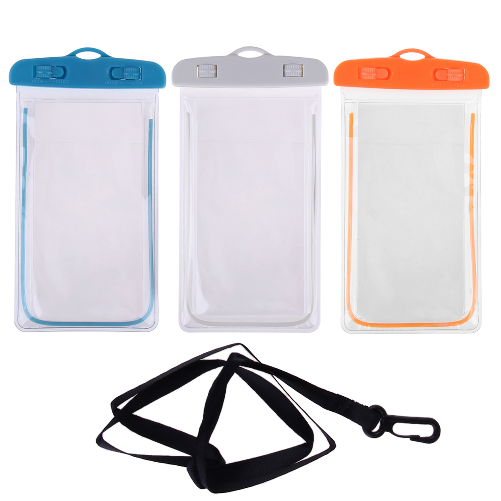 3.5 inch -6 inch Swimming <font><b>Bags</b></font> Waterproof <font><b>Bag</b></font> Phone Case Cover for Phone Touchscreen Mobile <font><b>Water</b></font> <font><b>Proof</b></font> Accessories image
