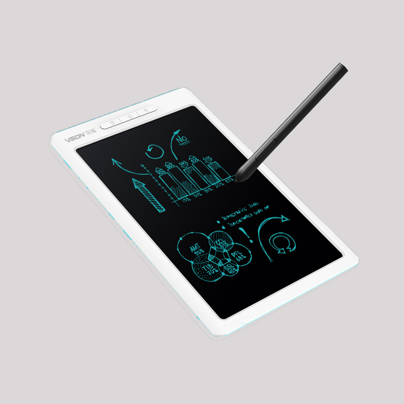 10 Inch <font><b>LCD</b></font> Smart Pen Table APP Edit Parallel Halo <font><b>Writing</b></font> <font><b>Tablet</b></font> Electronic Drawing Board Compatible with Android iOS image