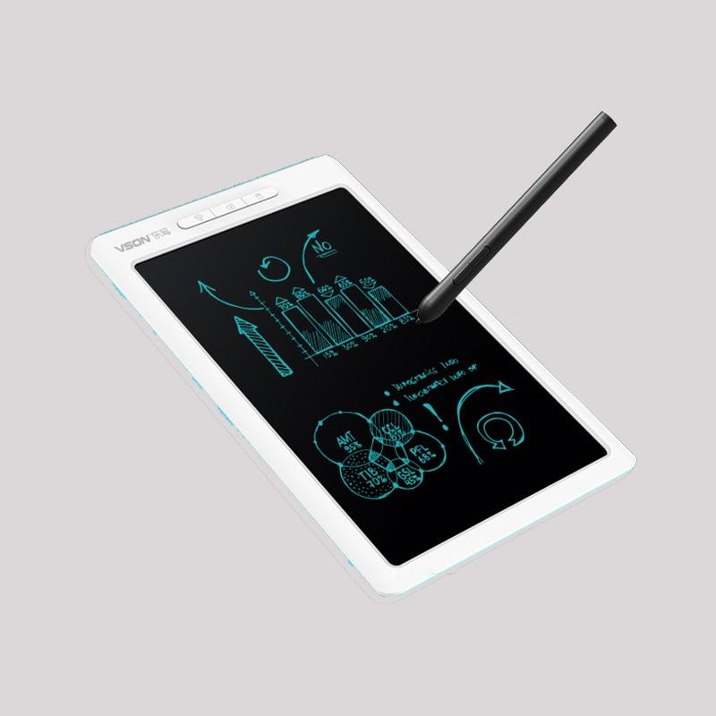 10 pouces LCD Smart stylo tableau APP modifier parallèle Halo écriture tablette électronique planche à dessin Compatible avec Android iOS