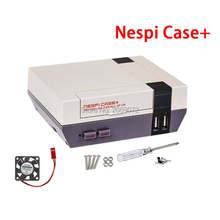 Jogo Caso + Retroflag Nespi para PI Raspberry Pi 3B + 3B