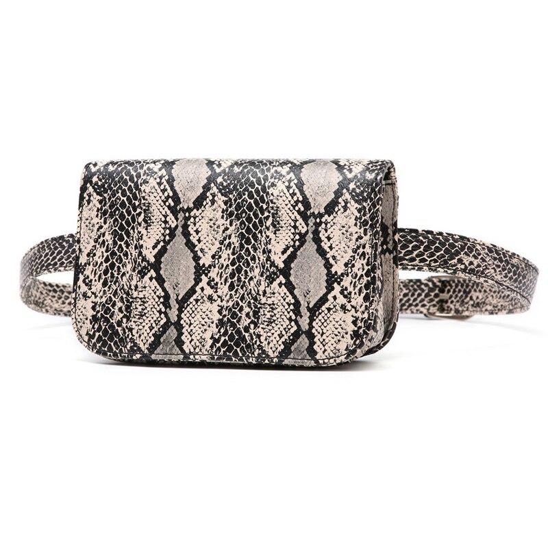 2019 Neue Design Serpentin Frauen Gürtel Tasche Kausalen Dame Taille Taschen Vintage Taille Pack Für Weibliche Mini Damen Brust Handtaschen