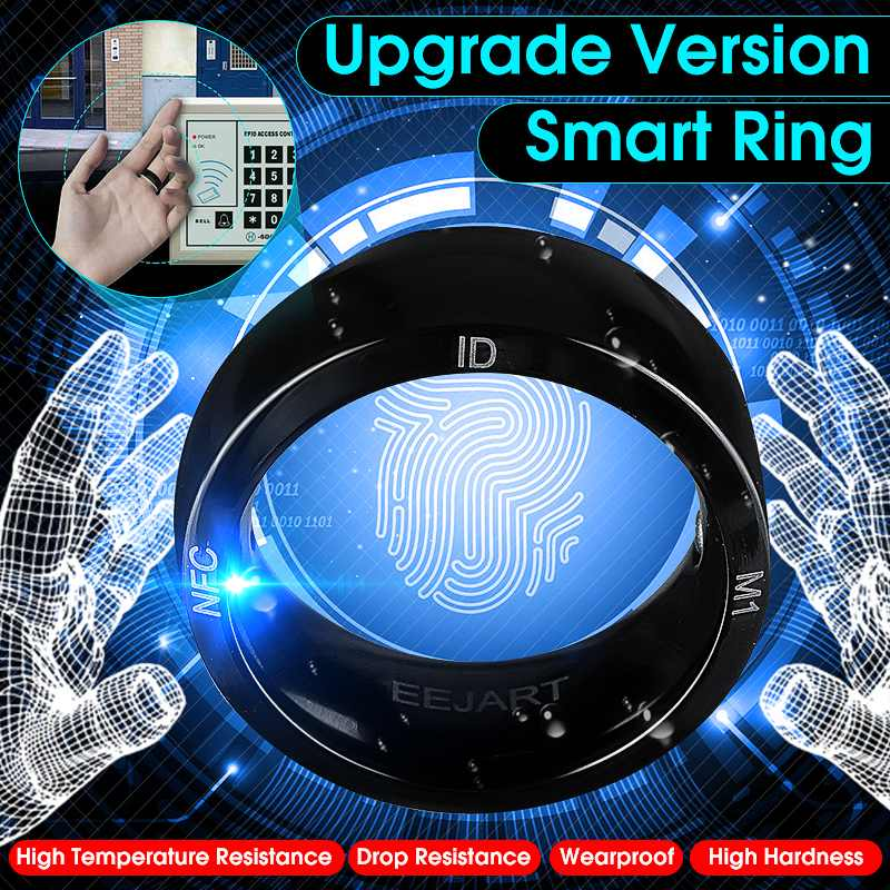 Unlock Health Protection Waterproof Smart Ring Wear New Technology Magic Finger NFC Ring For Android Windows NFC