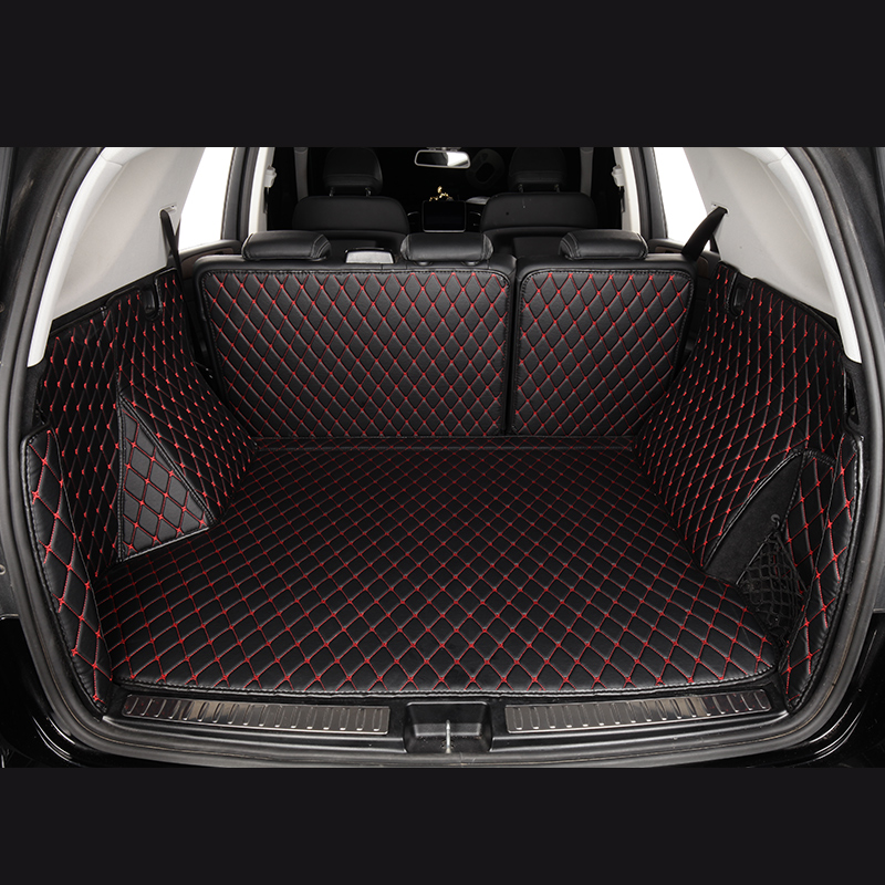 Car Trunk Mats for JEEP <font><b>grand</b></font> <font><b>cherokee</b></font> <font><b>cherokee</b></font> Renegade 2013 2014 2015 2016 2017 2018 <font><b>2019</b></font> cars accessories 3d 5d Cargo Liner image