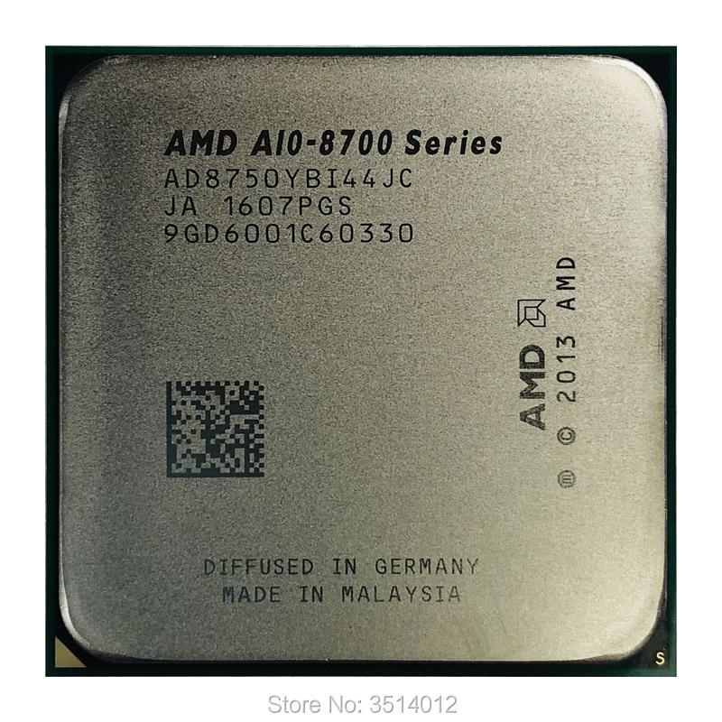 AMD A10 Series PRO A10 8750B A10 8750 A10 8750B 3 6 GHz Quad Core CPU