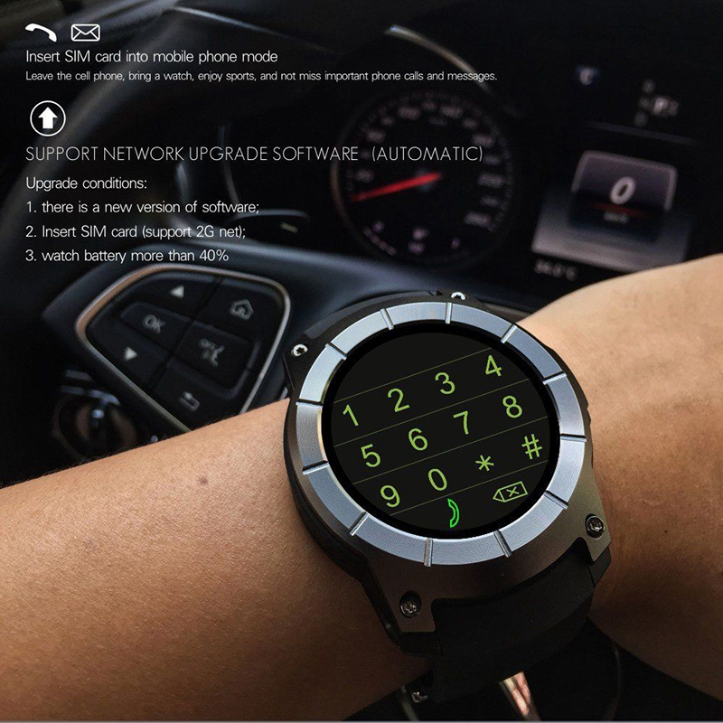 For Android IOS Phones S958 Smart Watch Sports Waterproof Heart Rate Monitor GPS 2G SIM Card Communication Fashion Smart WatchFor Android IOS Phones S958 Smart Watch Sports Waterproof Heart Rate Monitor GPS 2G SIM Card Communication Fashion Smart Watch