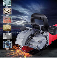 220V Electric Wall Chaser Groove Cutting Machine Wall slotting machine 5800W