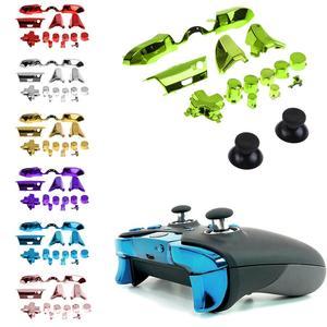 Image 4 - Paraurti Trigger Guida Set DA PAD RT LT RB LB Bottoni Kit Per Xbox One Placcatura Accessori 1 Set Elite Maniglia 2019 Nuovo