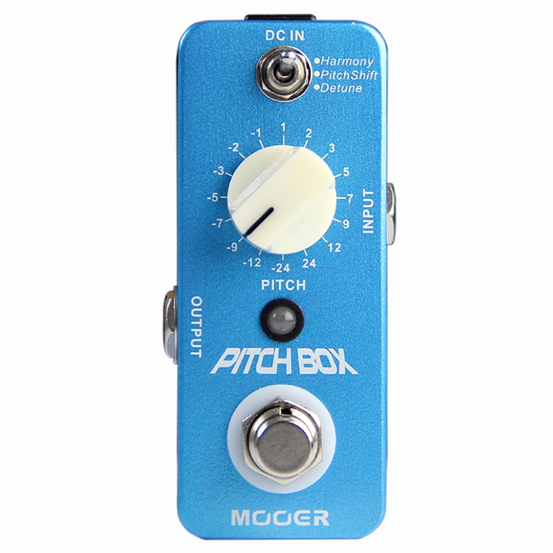 MOOER Effect Guitar Pedal /Mooer Compact Pedals Pitch Box Pitch Pedal,Harmony/Pitch Shifting PedalMOOER Effect Guitar Pedal /Mooer Compact Pedals Pitch Box Pitch Pedal,Harmony/Pitch Shifting Pedal