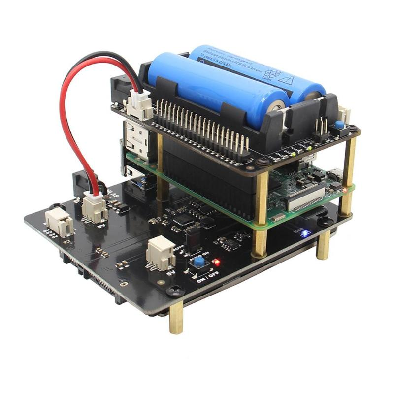 X720 UPS Power Management Expansion Board RTC Wake on Lan for Raspberry PiX720 UPS Power Management Expansion Board RTC Wake on Lan for Raspberry Pi