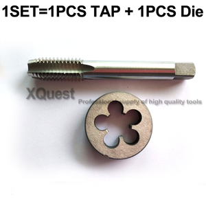 Image 4 - 2PCS Right Thread tap and die set UNC 5/16 3/8 1/2 9/16 5/8 3/4 Unified screw dies taps UNF UNS 3/4 36 5/8 40 9/16 32 1/2 28
