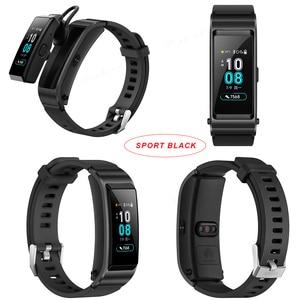 Image 5 - Huawei TalkBand B5 Bracelet de conversation Bracelet intelligent sport portable Bluetooth bracelets tactile AMOLED écran appel écouteur bande