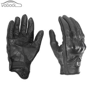leather motorcycle gloves touc