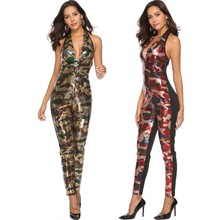 e3ec4969c13 MUXU sequin bodysuit rompers womens jumpsuit one piece backless monos  largos mujer pantalon largo sexy body