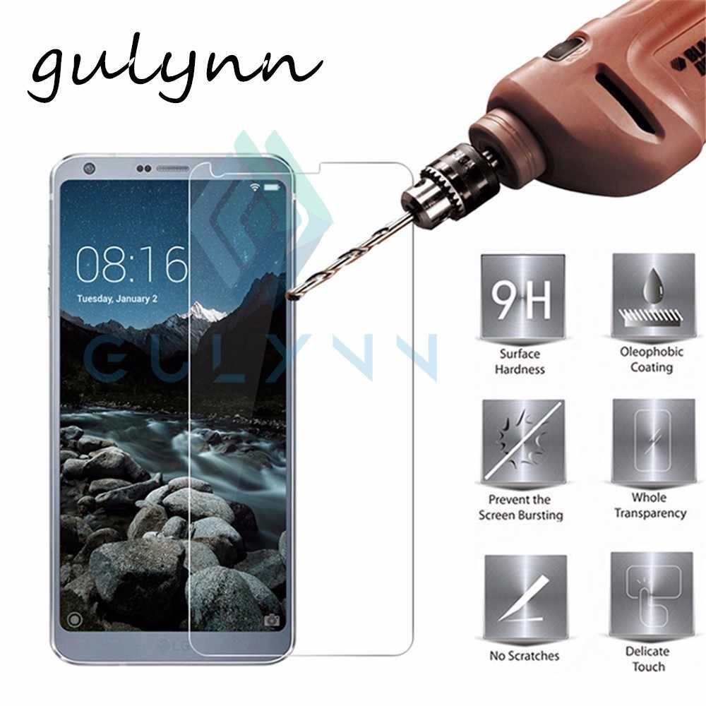 9H patlamaya dayanıklı temperli cam için LG G4 G6 K10 2017 G7 V10 Q Stylus Q7 K11 K11 artı HD kapak ekran koruyucu Film için LG