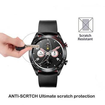 2.5D verre trempé protecteur d'écran pour Huawei Honor montre magique 2 GT 2 2e 42mm 46mm Smartwatch écran garde Film protecteur 4