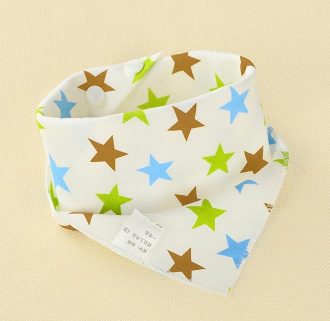 2019 marca nueva 1 piezas infantil niños bebé Unisex alimentación Saliva toalla Dribble triángulo baberos Bandana Burp paños bebé regalos