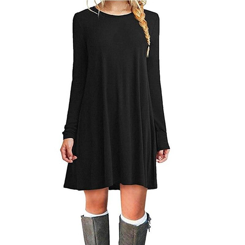 Распродажа, модное женское повседневное коктейльное короткое мини платье для вечеринки с длинным рукавом