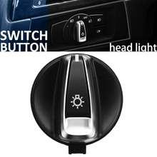 Interruptor de Luz Cabeça AUTO carro Da Frente Botão de Rotação Para BMW 1 E88 E82 3 E90 E91 X1 E84 Head Light lâmpada de Controle do Interruptor Botão Konb