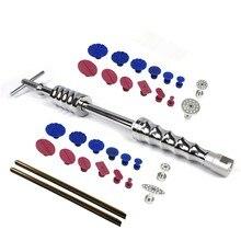 PDR инструменты для безболезненного ремонта вмятин Съемник Набор для удаления вмятин слайдер молоток клеевые палочки обратный молоток клеевые вкладки для повреждения градом