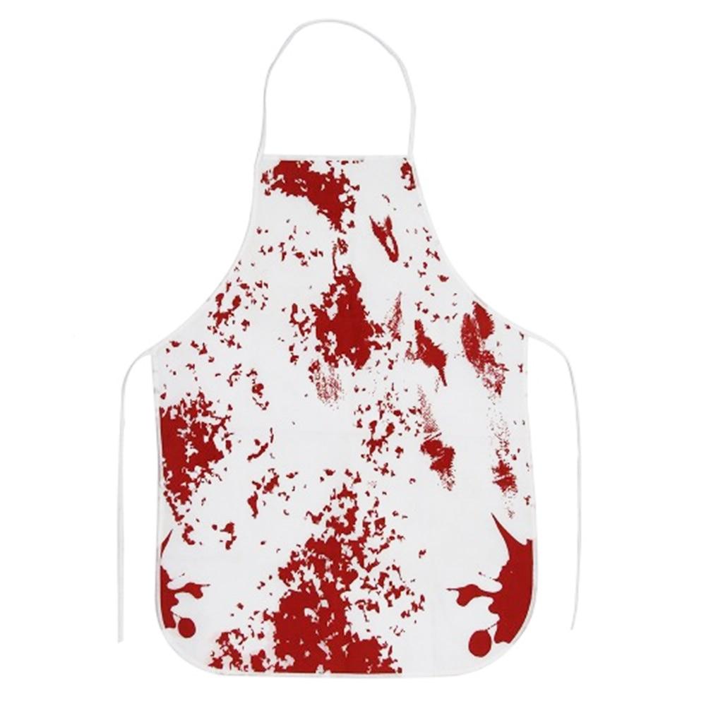 1 Pc Halloween Horror Schort Bloody Murder Keuken Keuken Overgooier Party Props Voor Spookhuis Halloween Party Decoratie Lange Levensduur