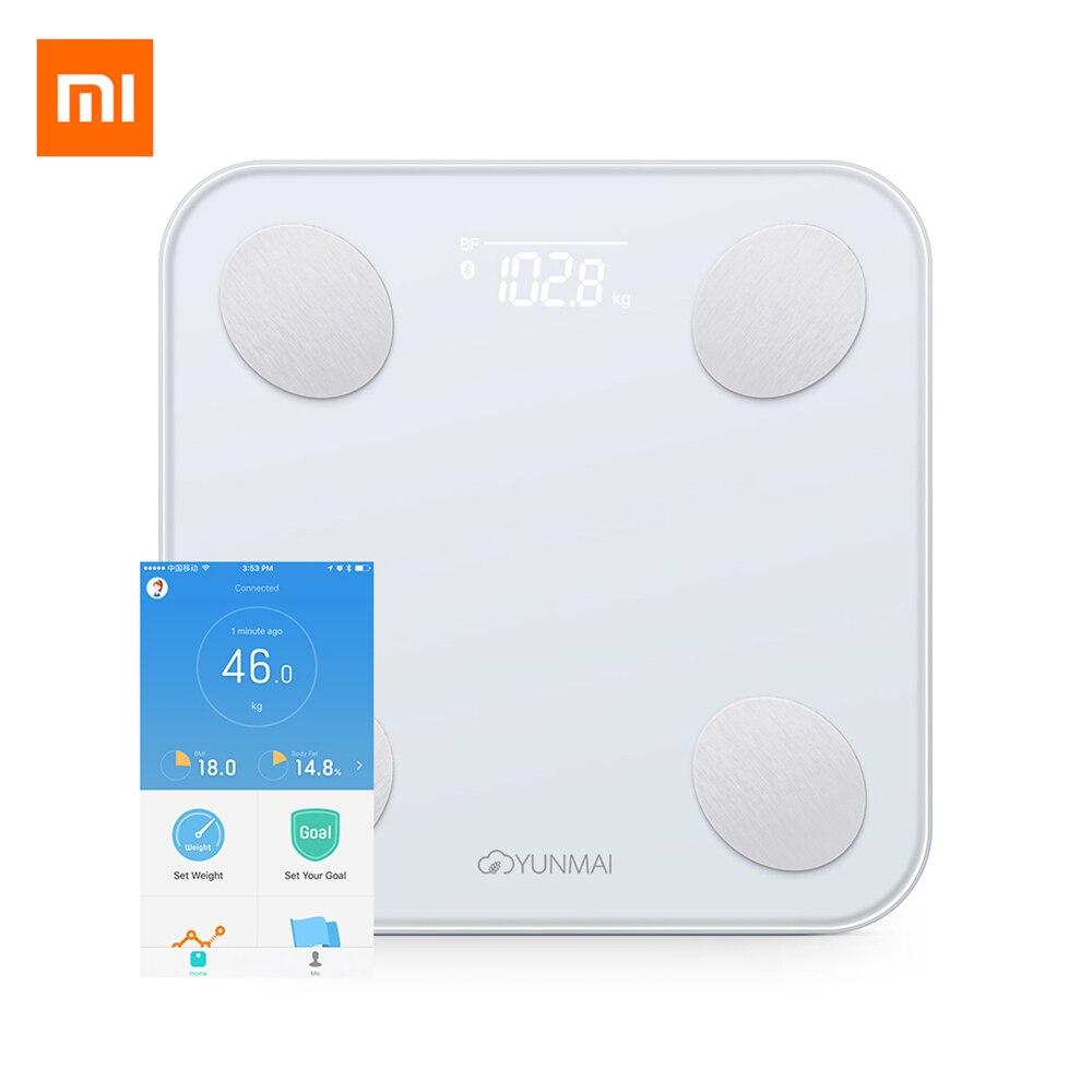 Original Xiaomi YUNMAI Mini 2 Balance Smart Body Fat Weight Scales Health Digital Weighting Scale English APP ControlOriginal Xiaomi YUNMAI Mini 2 Balance Smart Body Fat Weight Scales Health Digital Weighting Scale English APP Control