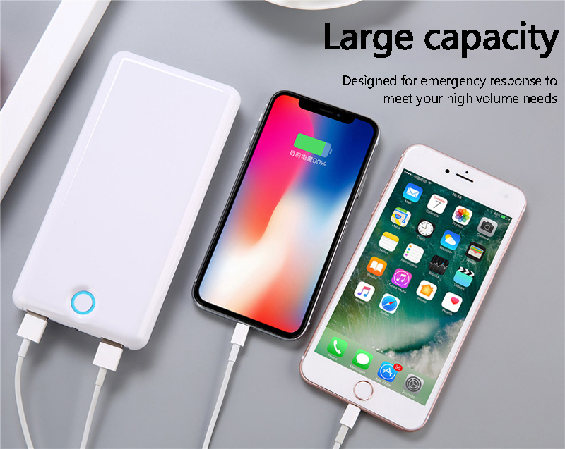 20000 mAh batterie externe pour IPhone Samsung Huawei Type C PD Charge rapide + Charge rapide 3.0 USB batterie externe 18650 powerbank