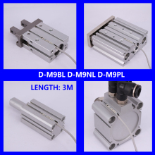 SMC TYPE Solid  State Auto Switch Direct Mounting Type D-M9B D-M9N D-M9P D-M9BL D-M9NL D-M9PL Magnetic Senson For Air Cylinder