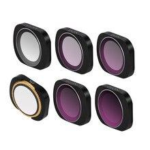 MCUV CPL NDPL ND64-PL ND32-PL ND4 ND8 Камера Объектив Комплекты фильтров для DJI Осмо карман ручной карданный Камера аксессуары