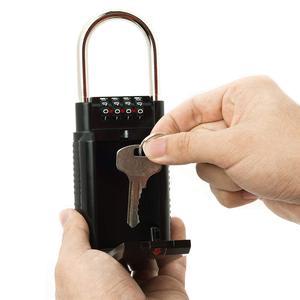 Image 5 - MOOL コンビネーションロックボックスキー収納ロックボックス 4 桁コンビネーションロック防水屋内/屋外