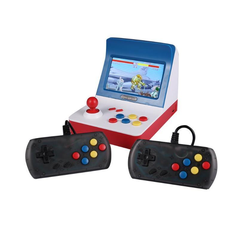 ALLOYSEED A8 Mini Console de jeu vidéo d'arcade rétro 4.3