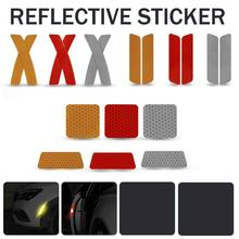 Car Stickers Anti-Collision Reflective Bar Warning Acrylic Coating Wear Resistance Sun-proof Durable Door Decals Accessories
