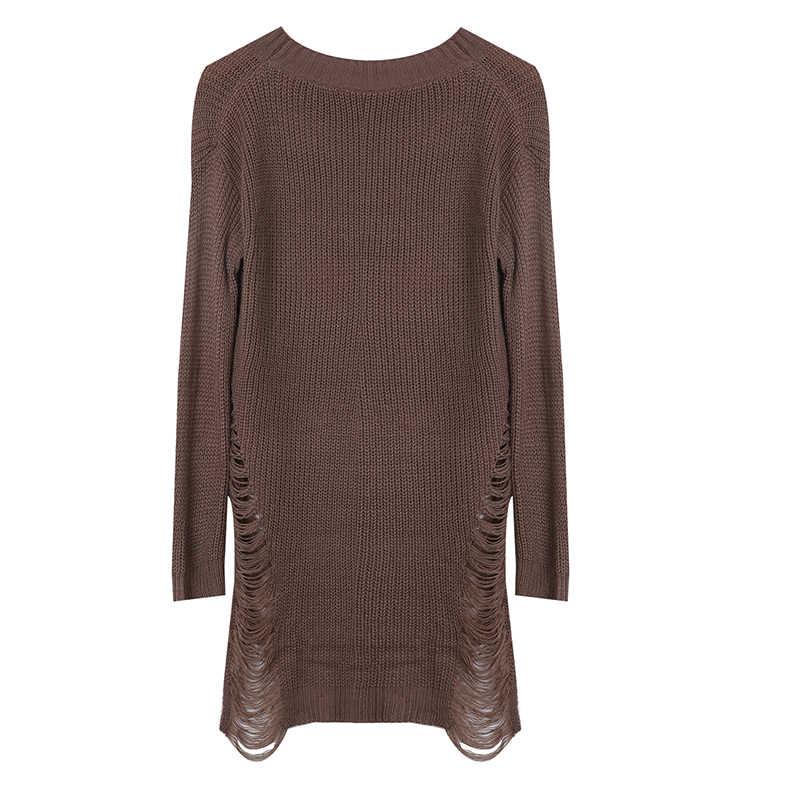 Las mujeres de manga larga Camiseta de las señoras Jersey Tops blusa