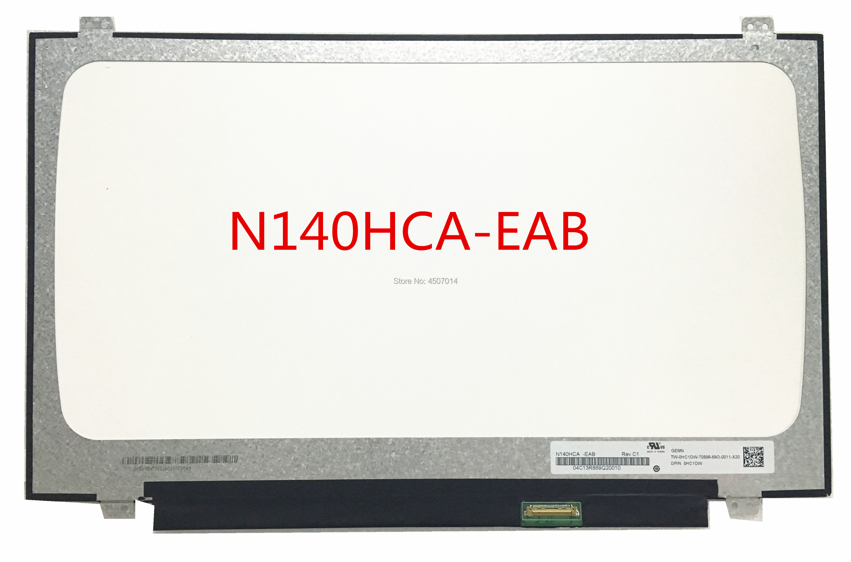 Free Shipping N140HCA-EAB N140HCA EAB 14.0inch Laptop Lcd Screen IPS 1920*1080 EDP 30 PinsFree Shipping N140HCA-EAB N140HCA EAB 14.0inch Laptop Lcd Screen IPS 1920*1080 EDP 30 Pins