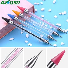 AZQSD Diamond Painting Accessories Diamond Mosaic Pen Pictures Double Head Diamond Embroidery Point Drill Pen (China)