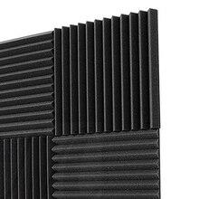 6 ПАК 30x30x2,5 см звукоизоляция пена акустическая пена лечение звука акустические панели студия пены клинья плитки для KTV комнат, стены