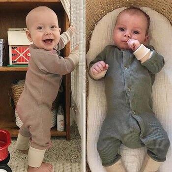 810ae5b06 Pudcoco recién nacido bebé mameluco 2019 nueva ropa de bebé niño monos otoño  invierno cálido manga larga ropa recién nacido