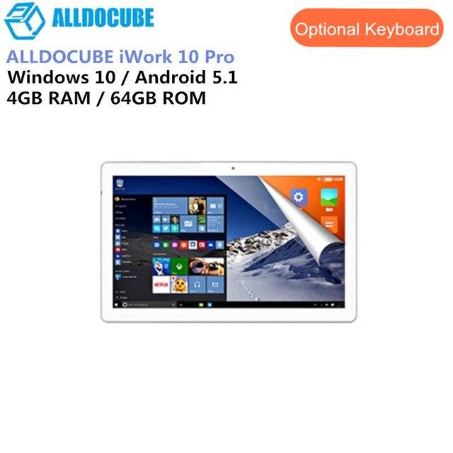 ALLDOCUBE iWork 10 Pro Máy Tính Bảng 2 Inch 1 Tablet PC Intel Atom X5-Z8350 4 GB 64 GB 1920*1200 IPS 10.1 Inch Windows10 + Android 5.1