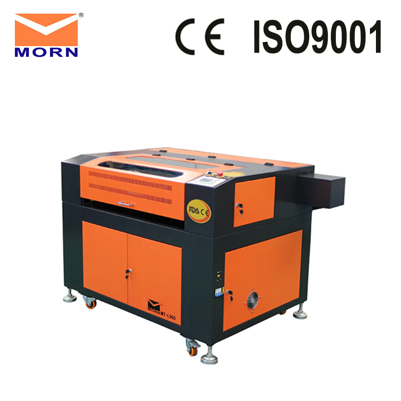 Ruida control system CNC router CO2 laser engraving and cutting machine for arts and crafts industry