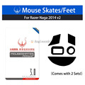 Новые высококачественные 2 комплекта Ra. zer Naga 2014 RZ01-0104/chroma 2016/Hex V2 ножки мыши/коньки тефлон 0 6 мм