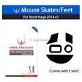 NEUE Hohe Qualität 2 sets Ra. zihr Naga 2014 RZ01 0104/chroma 2016/Hex V2 Maus Füße/Skates Teflon 0 6mm-in Tablet-Display-Schutzfolien aus Computer und Büro bei