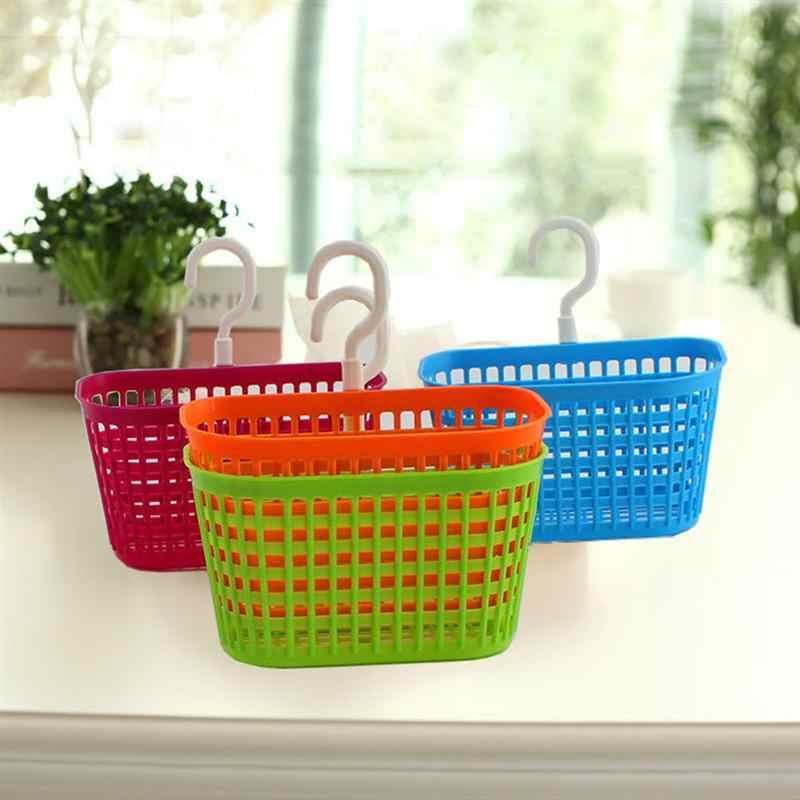 1pc Home Kitchen Hanging Drain Bag Basket Bath Storage Tool Sink Holder Storage Basket For Home Kitchen Hanging Basket