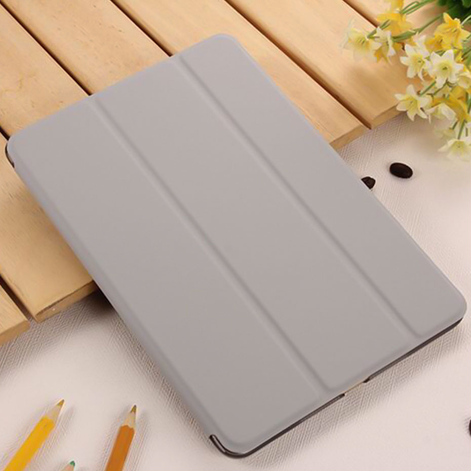 YWEWBJH Case for iPad 2 3 4 PC Hard+PU Leather Smart Auto Sleep Wake Ultra Slim Tablet